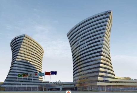 Prédios do complexo do Inter (hotel e comercial) terão arquitetura arrojada
