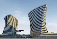 Prédios do novo complexo do Inter tem arquitetura arrojada
