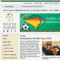 Site da Copa 2014