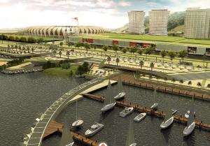 Área do novo Beira Rio