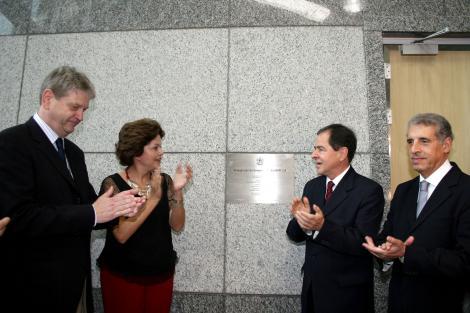 Dilma e Fogaça na inauguração do CEITEC - Fotos: Ricardo Giusti / PMPA