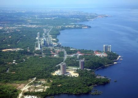 Manaus, praia da Ponta Negra