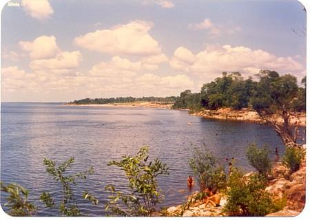 Manaus em 1986, na Ponta Negra