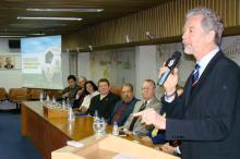 Fortunati falou sobre investimentos para a Copa em reunião do Crea
