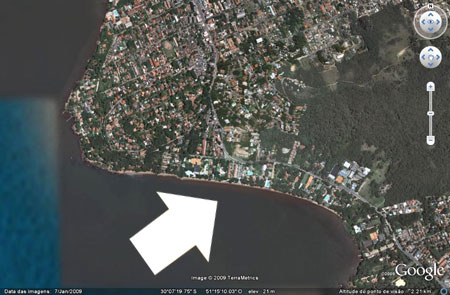 Pedra Redonda - pedaço de paraíso a beira do Guaíba - Cheia de mansões !!!!