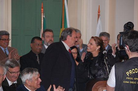 Presidente do Inter, Vitório Píffero