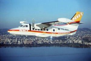 Let 410 UVP C-20 da NHT Linhas Aéreas, com 19 lugares