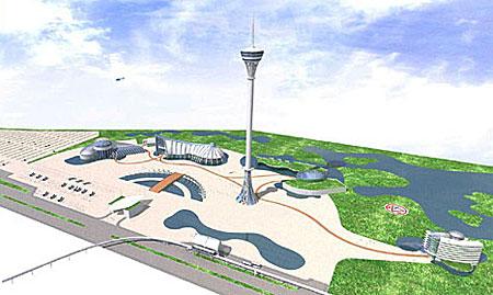 Complexo será ao lado da Expointer. Imagem: Seaquarium Brasil