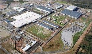 Fábrica da Ford - Camaçari - Bahia - uma das maiores montadoras do país