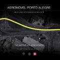 trajeto previsto do aeromóvel do aeroporto