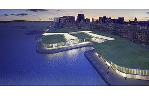 Imagem do projeto do shopping center. Divulgação.