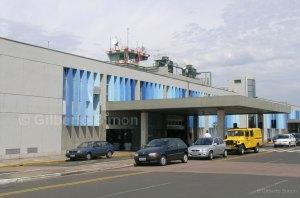 Terminal 2 do aeroporto. Foto: Gilberto Simon