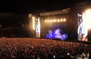 Bandas e cantores (as) que se apresentaram em Porto Alegre