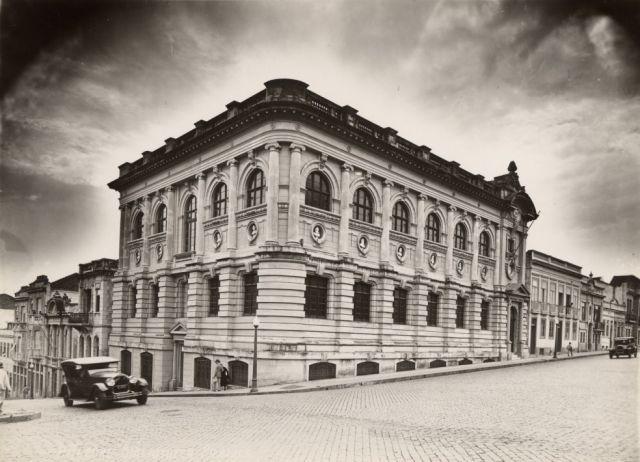 Biblioteca Pública do Estado nos anos 20 l Foto: da Fototeca Sioma Breitman/Museu de Porto Alegre Joaquim Felizardo