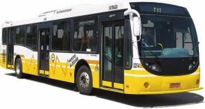 Ônibus da Carris com ar