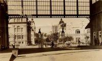 Pórtico Central do Cais do Porto: reconhecido como patrimônio pelo IPHAN e pela EPAHC l Foto: Fototeca Sioma Breitman/Museu de Porto Alegre Joaquim Felizardo