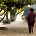 """Canteiros """"irregulares"""" segundo a SMOV, que seriam obstáculos para os pedestres."""