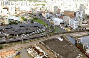 Novo viaduto da Rodoviária está entre as obras licitadas. Imagem: Prefeitura