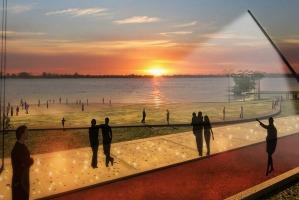 Moradores e turistas poderão usufruir do parque 24 horas por dia Foto: Divulgação/PMPA