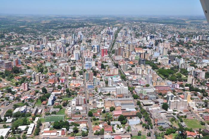 Passo Fundo é uma das cidades mais densas do RS. Possui mais de 200 mil habitantes e é considerada cidade de médio porte. Foto: Czamanski