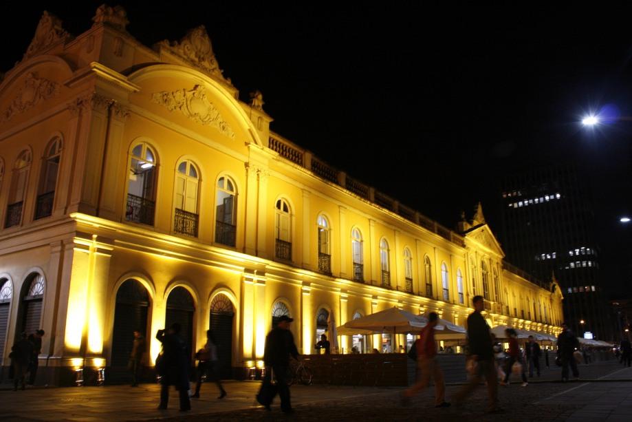 Atração inédita será projetada no prédio do Mercado Público  Foto: Ivo Gonçalves/PMPA