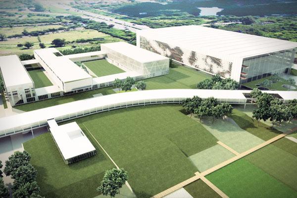 Complexo da Fecomércio contará com centro administrativo, além de reunir o Sesc e o Senac  REPRODUÇÃO/JC
