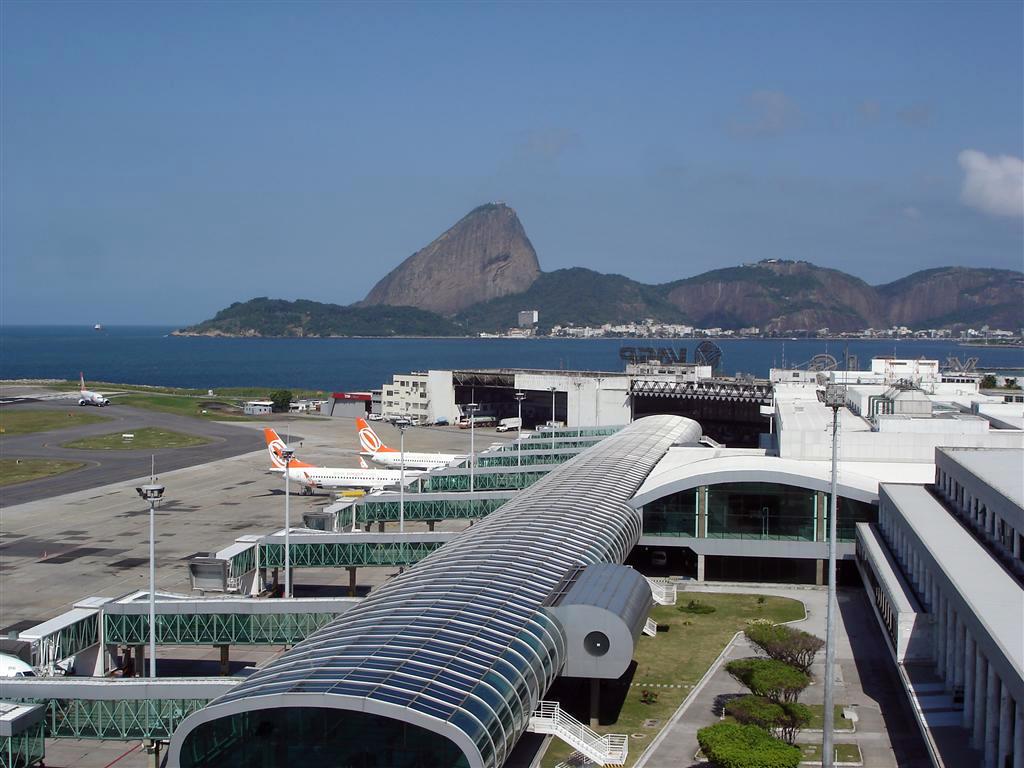 Aeroporto Rio De Janeiro : Santosdumont porto imagem