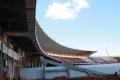 Quadrante do Beira-Rio recebe peças pré-moldadas (crédito: Internacional/Divulgação)