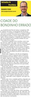 """artigo """"cidade do bondinho errado"""", Metro Porto Alegre, 7 de Novembro de 2012"""