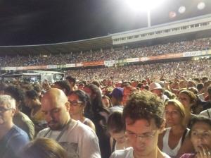 Olímpico ficou lotado para  o show! Foto: Gilberto Simon - Porto Imagem