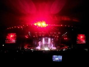 Cerca de 43 mil pessoas foram ao estádio Olímpico para ver o show de Madonna.Foto: Gilberto Simon - Porto Imagem