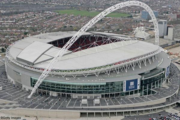 Estádio de Wembley atual