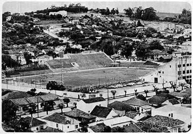 Estádio Eucaliptos, construído em 1931, e já demolido para dar lugar a um condomínio.