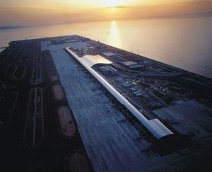 Aeroporto de Kansai, projeto de Richard Rogers