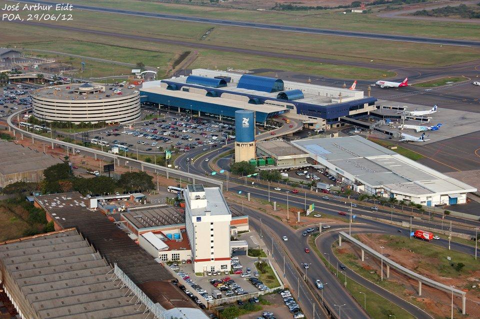 Aeroporto Internacional Salgado Filho Porto Alegre Rs Brasil : Construção de novo aeroporto pode desativar salgado filho