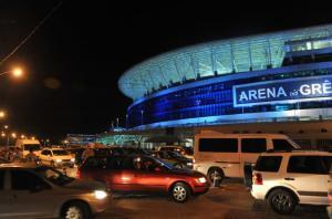 MP pede suspensão da liberação da construção de prédios no entorno da Arena  Crédito: Ricardo Giusti / CP Memória