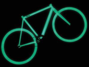 Iluminação das bicicletas pode ser carregada com luz solar ou artificialFoto: 8Bar Bikes / Divulgação