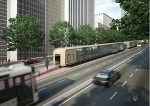 Estação de BRT: BH lidera andamento das obras  créditos: Divulgação