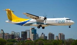 ATR-72 da BQB - Foto: Buquebus Linhas Aéreas