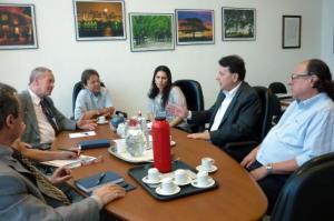 Reunião debateu importância de investimentos federais no aeroporto   Foto: Divulgação/PMPA
