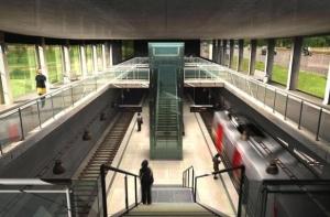 O metrô está previsto para ser concluído em 2017   créditos: Divulgação
