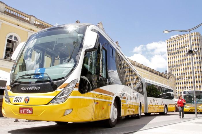 Novos ônibus já começam a circular a partir desta sexta-feira   Foto: Cristine Rochol/PMPA