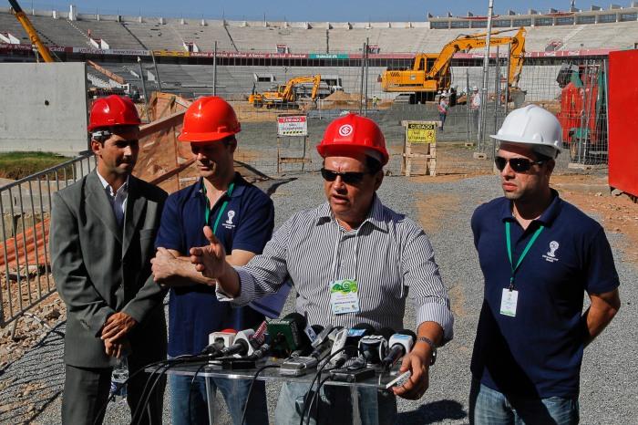 Vieram à Capital 40 técnicos para avaliar 16 diferentes áreas de operacionalidade   Foto: Luciano Lanes/PMPA