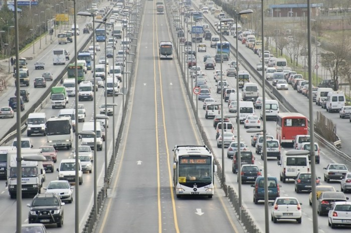 Após a implantação do sistema BRT Metrobus.