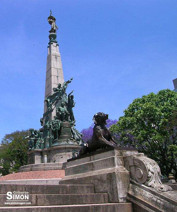 Monumento a Júlio de Castilhos. Foto: Gilberto Simon - Porto imagem