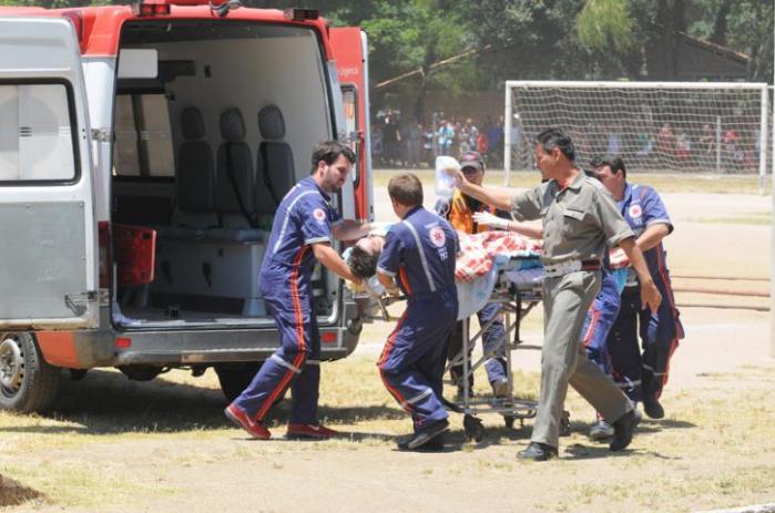Prefeitura de Porto Alegre monta esquema para receber pacientes e Defesa Civil cadastra voluntários  Fotos: Ricardo Giusti