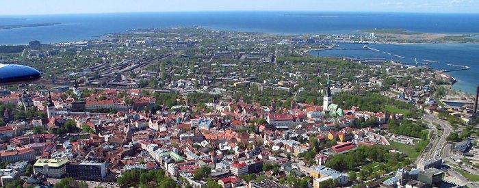 Transporte público em Tallinn é gratuito para residentes e para pessoas com mais de 65 anos. Foto: Wikipédia.