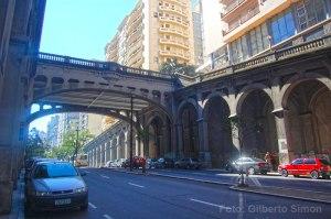 Viaduto Otávio Rocha estava no conjunto de projetos encaminhados pela Prefeitura. Foto: Gilberto Simon