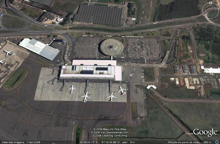 aeroporto de cima