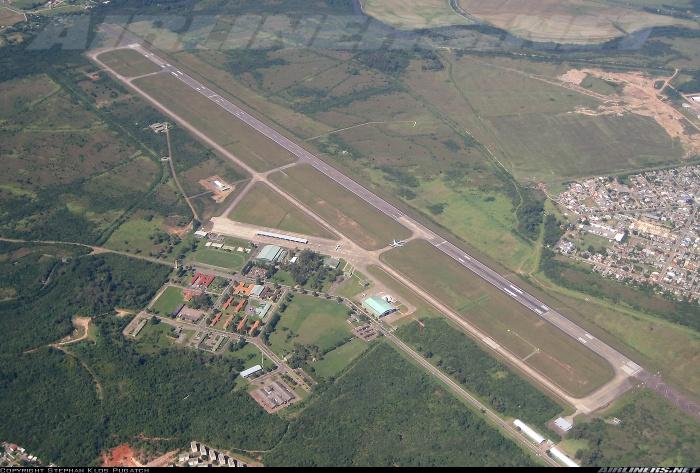 Base Aérea de Canoas, vista aérea.